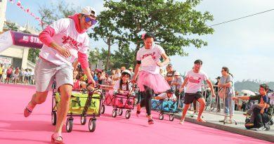男士著高踭鞋跑步你見過未? Let's Pink Run!