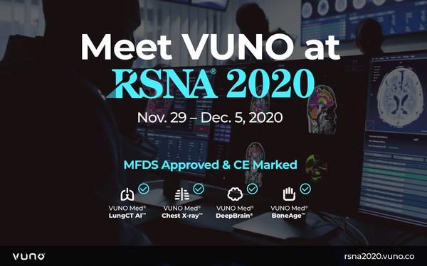 VUNO參加RSNA 2020